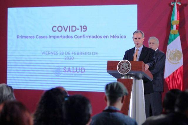 CORONAVIRUS LLEGÓ A MÉXICO