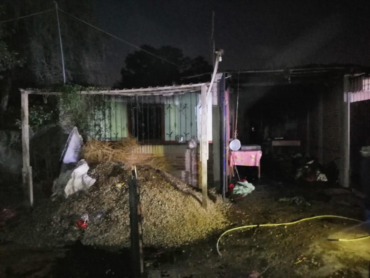Muere niña de dos años en incendio de vivienda