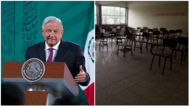 NO HAY MARCHA ATRÁS CON EL REGRESO A CLASES PRESENCIALES EN AGOSTO: AMLO