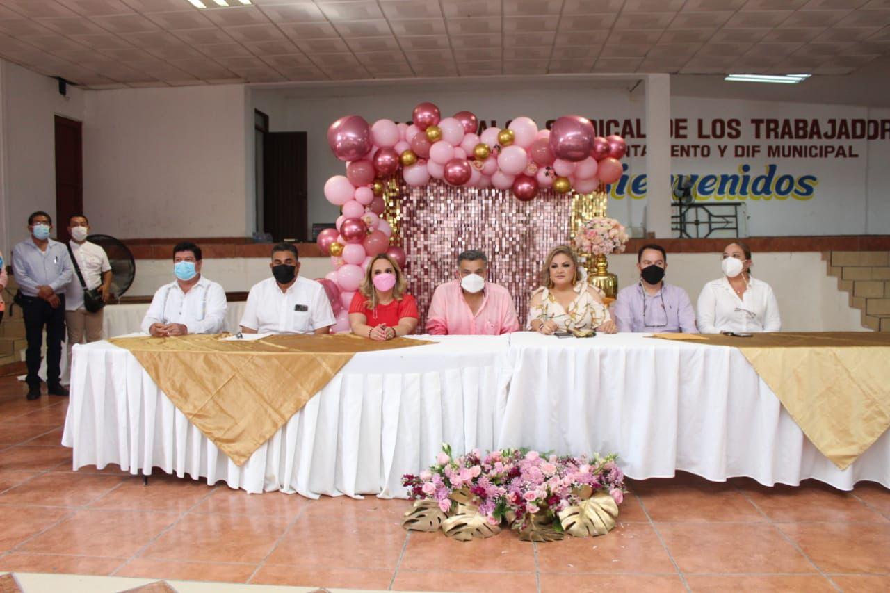 Alcalde de Ciudad Valles tomó protesta a nueva dirigencia sindical del Ayuntamiento